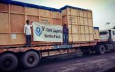 V-Care Logistics Complete Project Cargo from India to South America