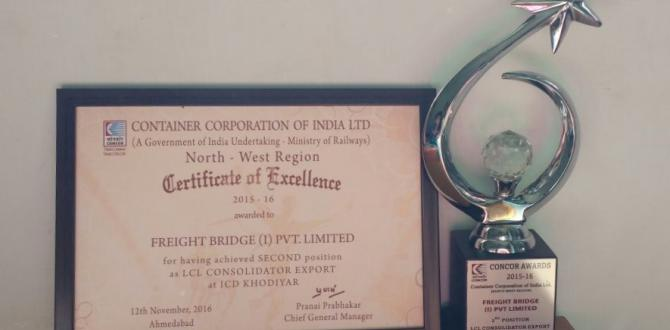 FreightBridge Logistics Awarded by CONCOR