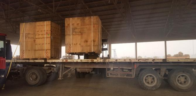Two Recent Shipments from Sham Logistics Services