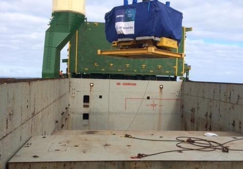 Sadleirs Oversee Discharge Operations at Henderson Port