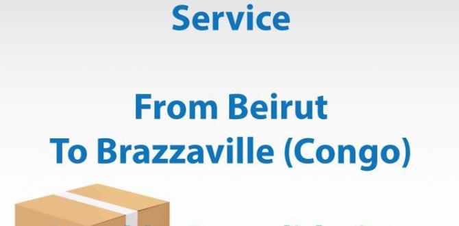 TransMed with Regular Door-to-Door Service from Beirut to Brazzaville