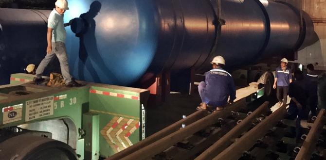 Crown Logistics Handle Heavy Shipment from Shanghai to Long An Province
