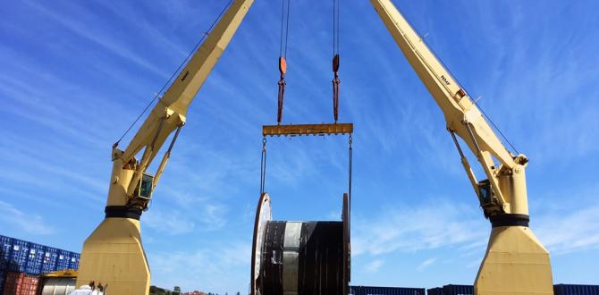 Sadleirs Global Logistics Move Cable Reel to Malaysia