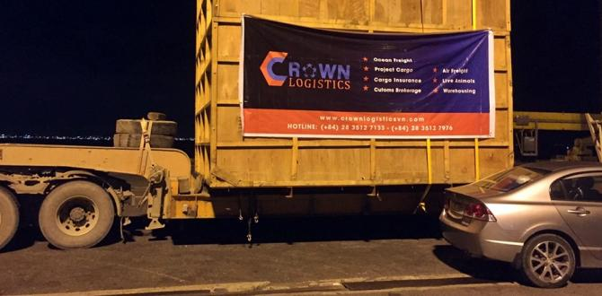 Crown Logistics Handle Multimodal Hydro Power Project