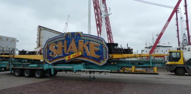 Spark Global Logistics Belgium Handle Shipment of Amusement Rides