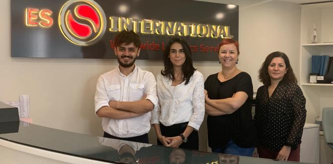Experienced Founders & Creative Professional Team at ES International in Turkey