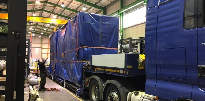 John Good Logistics Show their Experience in Handling Canning Machinery