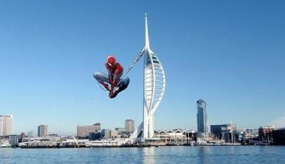 Abseiling for Insulin - 100m Down the Spinnaker Tower!