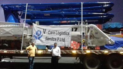 V-Care Deliver Over-Dimensional Cargo in India