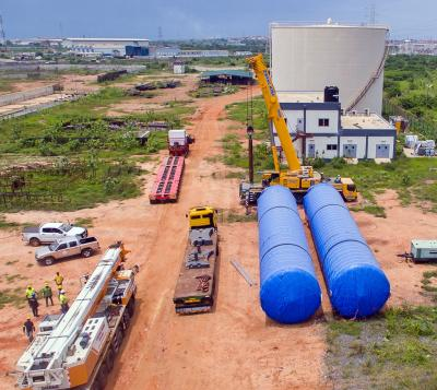 Total Logistics with Trojan Power Project in Ghana