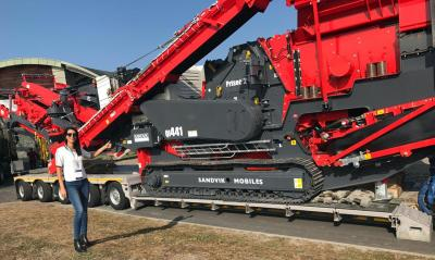 Actitrans Ship Crusher Machine from Ireland to Reunion Island