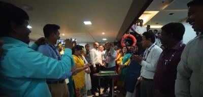 Celebrations at FreightBridge Logistics in India!
