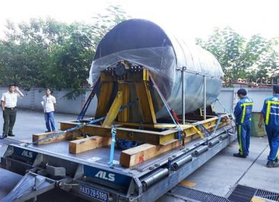 New World Logistics with Air Transport of Rotor Shaft