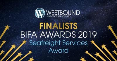 Westbound Logistics Services are BIFA Finalists!