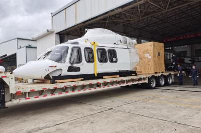 Uni-Home Successfully Handle Helicopter Shipment