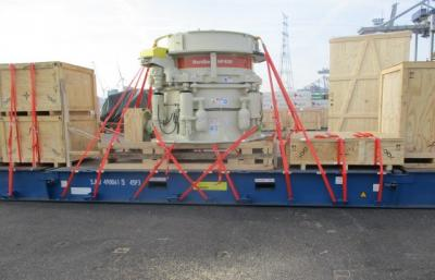 Spark Global Logistics Delivers Mining Equipment
