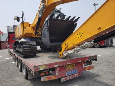 Uni-Home Transports Another Excavator from China to Uzbekistan