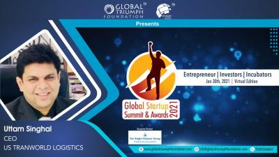 US Transworld Logistics Win 'Best Business Startup' at the Global Startup Summit & Awards