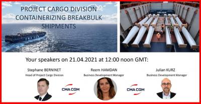 Cargo Connections Arrange Exclusive Webinar with CMA CGM