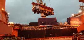 Uni-Home International Logistics Handle Shipping of Concrete Trucks
