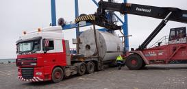 Alphatrans Ukraine Report Delivery of Spray Dryer