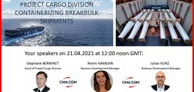 Cargo Connections Arrange Exclusive Webinar with CMA CGM
